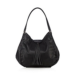 Red Herring - Black tassel shoulder bag