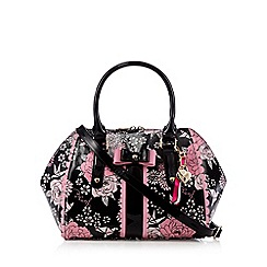 Floozie by Frost French - Black floral winged grab bag