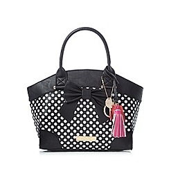Floozie by Frost French - Black polka dot winged grab bag