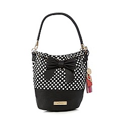 Floozie by Frost French - Black polka dot duffle bag
