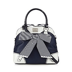 Floozie by Frost French - Navy striped colour block grab bag