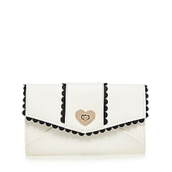 Floozie by Frost French - White heart purse