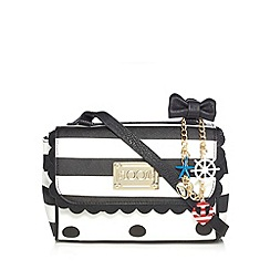 Floozie by Frost French - White polka dot cross body bag