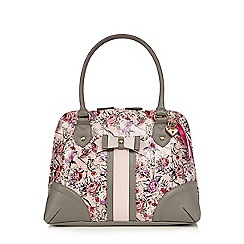 Floozie by Frost French - Light pink ballerina print kettle bag
