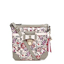 Floozie by Frost French - Light pink ballerina print cross body bag