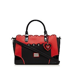 Floozie by Frost French - Red heart scalloped tote bag