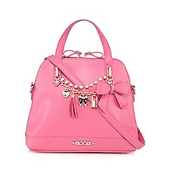 Floozie by Frost French - Pink charm bow kettle bag