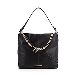Red Herring - Black chain shoulder bag