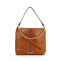 Red Herring - Tan chain shoulder bag
