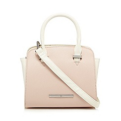 Red Herring - Pale pink colour block winged mini grab bag