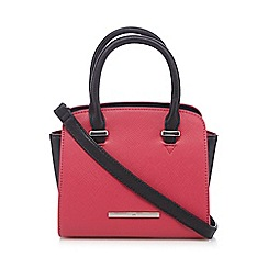 Red Herring - Pink colour block winged mini grab bag