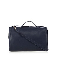 Red Herring - Navy bowler bag