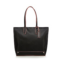 Red Herring - Black shopper bag