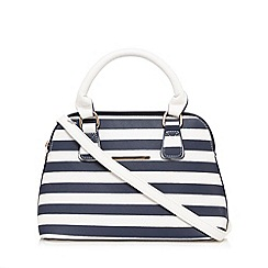 Red Herring - Navy striped mini grab bag