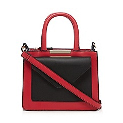 Red Herring - Dark pink colour block mini grab bag