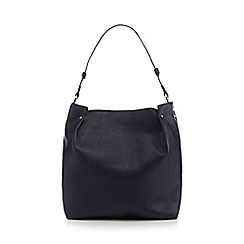 Faith - Navy colour block shoulder bag