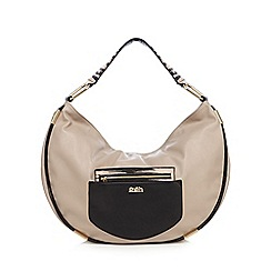 Faith - Beige zebra print shoulder bag