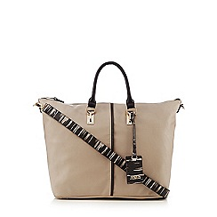 Faith - Beige contrast tote bag