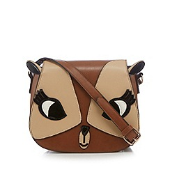 H! by Henry Holland - Tan deer cross body bag