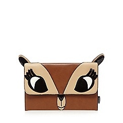 H! by Henry Holland - Tan deer clutch bag
