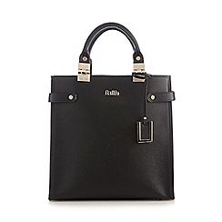 Faith - Black gold plated tote bag