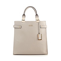 Faith - Grey gold plated tote bag