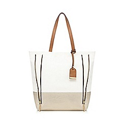 Call It Spring - White 'Causey' tote bag