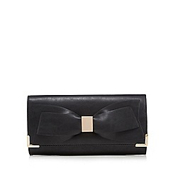 Call It Spring - Black 'Halogue' clutch bag