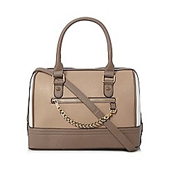 Call It Spring - Brown bowler bag