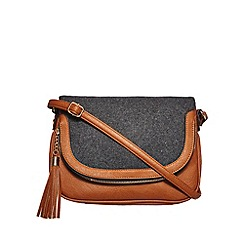 Call It Spring - Grey 'Egrolynt' cross body bag