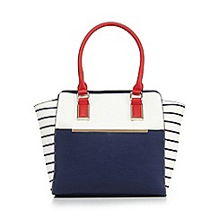 Call It Spring - Navy 'Masalina' shopper bag