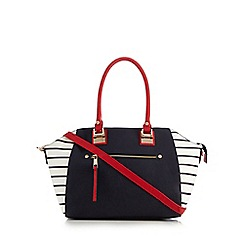 Call It Spring - Navy 'Lago' tote bag