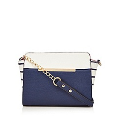Call It Spring - Navy 'Matter' cross body bag