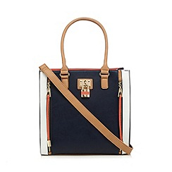 Call It Spring - Navy 'Scena' shopper bag