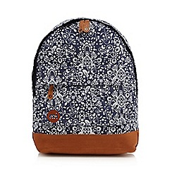 Mi-Pac - Navy floral backpack