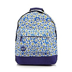 Mi-Pac - Blue daisy 'Premium' backpack