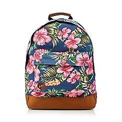 Mi-Pac - Multi-coloured floral 'Premium' backpack