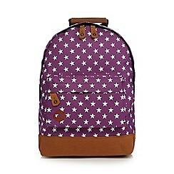 Mi-Pac - Purple and white all star mini backpack