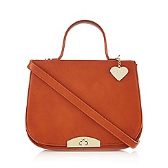Marc B - Orange 'Karlie' large cross body bag