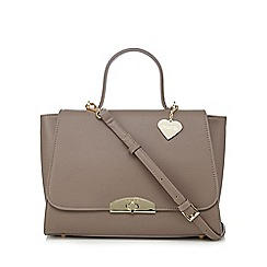 Marc B - Taupe gold plated grab bag