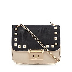 Lipsy - Multi-coloured colour block studded cross body bag
