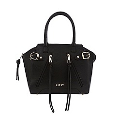 Lipsy - Black zip detail grab bag