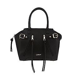 Lipsy - Black zip detail grab bag