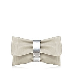 Lipsy - Grey fold over clutch bag