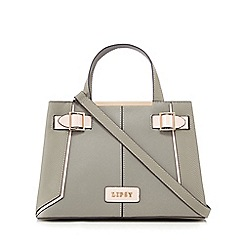 Lipsy - Khaki textured mini tote bag