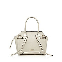 Lipsy - Beige zip detail grab bag