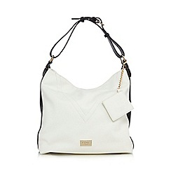 LYDC - White colour block shoulder bag