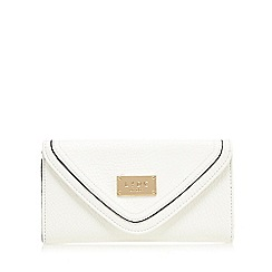 LYDC - white colour block purse