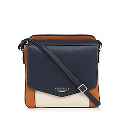 Fiorelli - Navy 'Taylor' colour block cross body bag