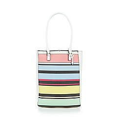 Fiorelli - Multi-coloured 'Trixie' striped tote bag